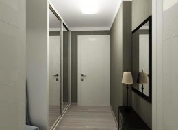 Шкаф купе в узкий коридор