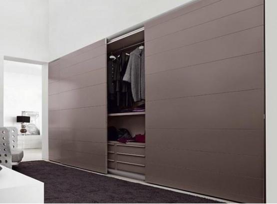 Шкаф купе в спальню с зеркалом