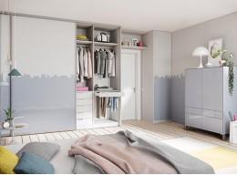 Большой шкаф в спальню