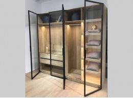 Шкаф 4 х дверный распашной