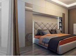 Шкаф горка в спальню