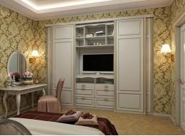 Шкаф в спальню классика