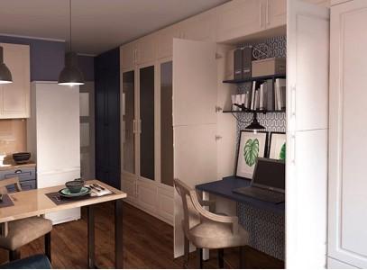 Модульные шкафы для гостиной