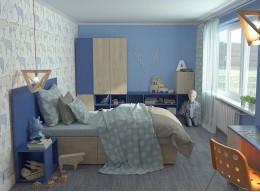 Шкафы для детской комнаты для мальчика