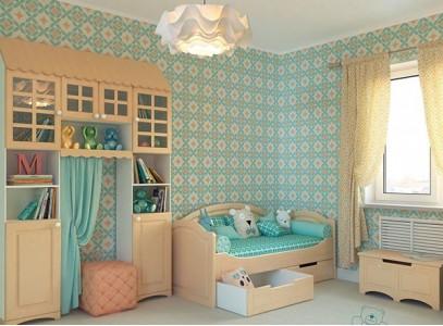 Шкаф для одежды в детскую комнату