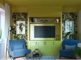 Шкаф с местом для телевизора