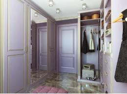 Шкаф с зеркалом в коридор