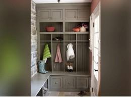 Шкафы в прихожую в стиле прованс