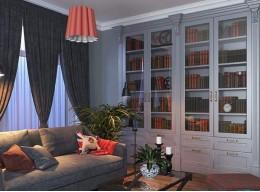 Шкаф для книг закрытый
