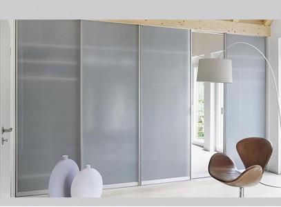 Двери для шкафа из матового стекла