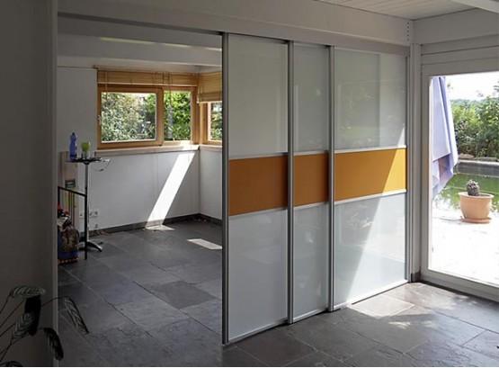 Откатные двери для шкафа купе