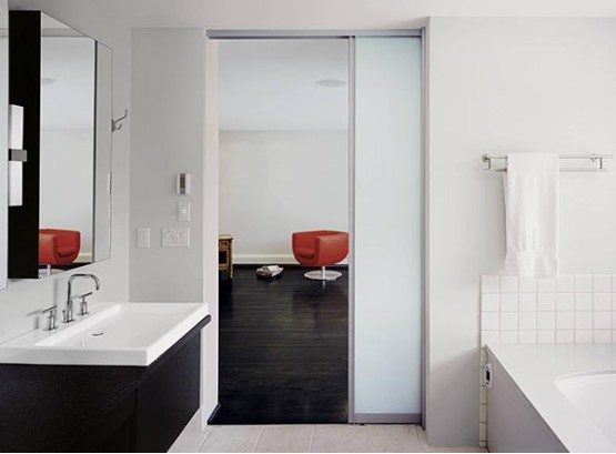 Ванна туалет раздвижные двери цены