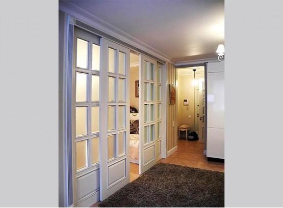 Раздвижные двери в гостиную