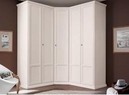 Шкаф для одежды угловой белый