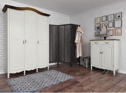 Шкаф прованс белый