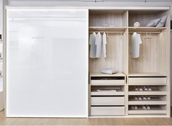 Большой шкаф купе в спальню