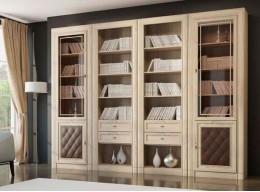 Шкаф витрина для книг