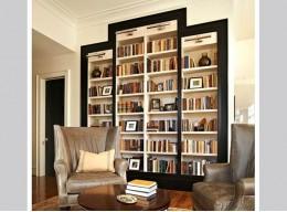 Встроенный шкаф для книг