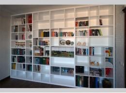 Встраиваемый книжный шкаф