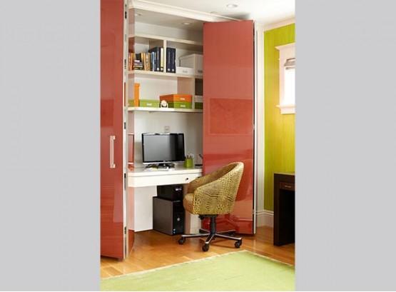 Встраиваемый стол со шкафом