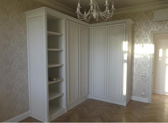 Угловой шкаф гардероб