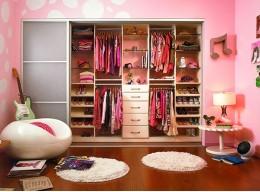 Шкаф гардеробная в детскую