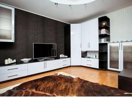 Стенка с угловым шкафом в гостиную