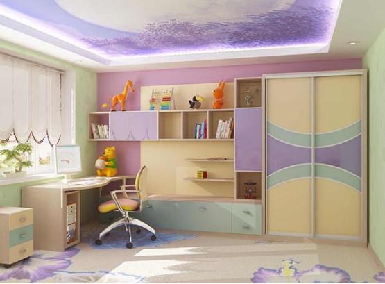 Шкаф стенка в детскую комнату