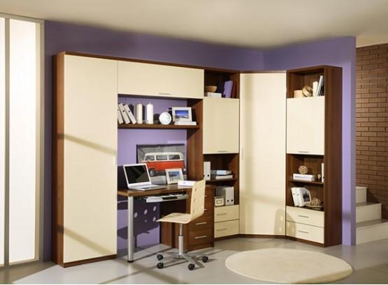 Детский шкаф для одежды с ящиками