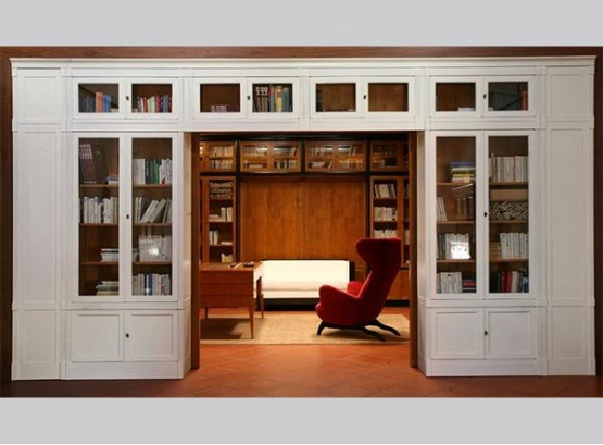 Мебель книжный шкаф