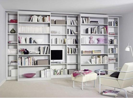 Книжный шкаф раздвижной