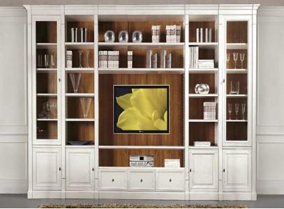 Стенки с книжными шкафами