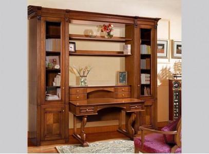 Книжный шкаф со столом