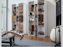 Книжный шкаф узкий