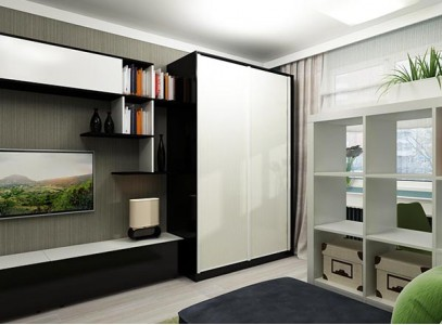 Стенка в комнату со шкафом