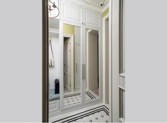 шкаф в коридор узкий