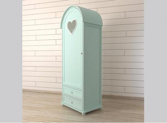 Шкаф одностворчатый для одежды со штангой