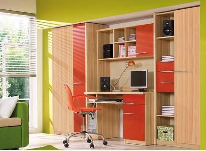 Стенка с письменным столом и шкафом