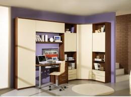 Угловой шкаф со столом