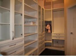 Встроенный шкаф купе кладовка