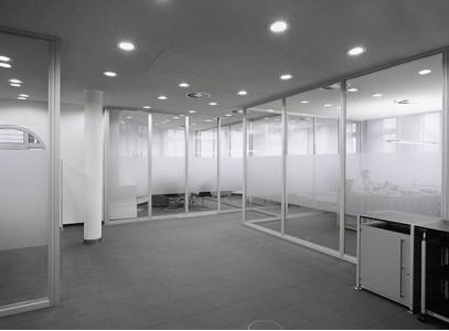 Алюминиевые перегородки со стеклом  за м2