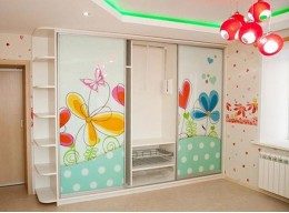Шкафы купе большие в детскую
