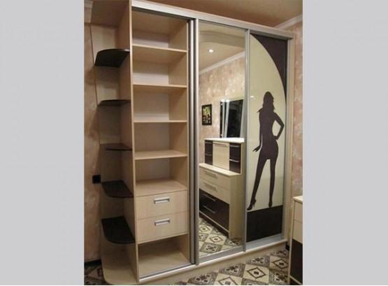 Шкаф купе для подростка девочки